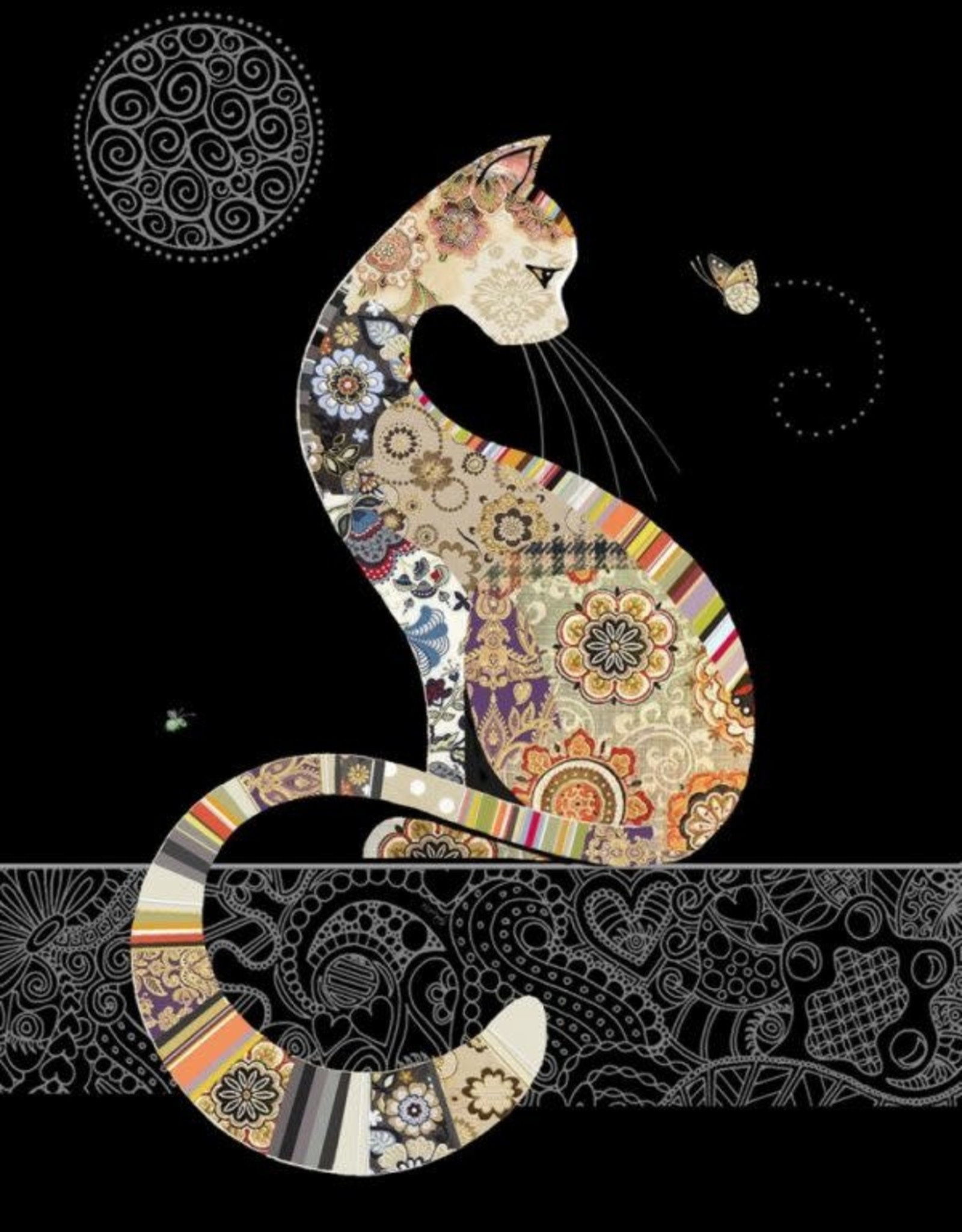 """Incognito JEWELS - CAT - BLANK (5"""" X 7"""")"""