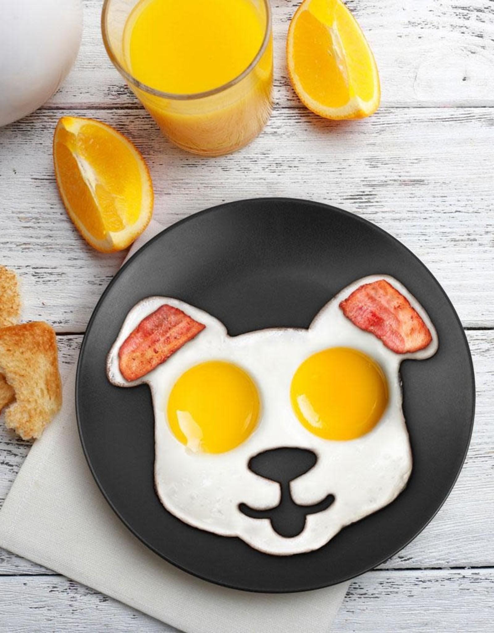 Fred & Friends Funny Side Up - Dog Egg Mold
