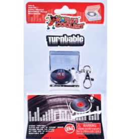 World's Coolest Turntable Keychain