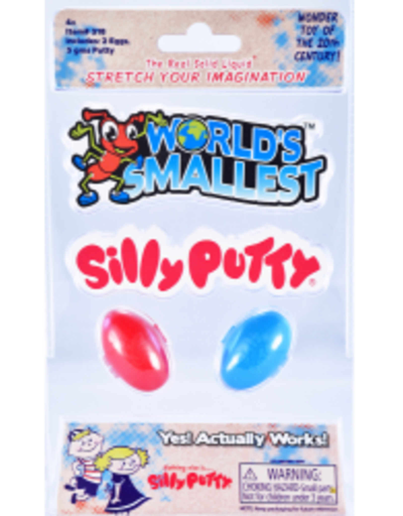 World's Smallest Silly Putty (2 Pack)