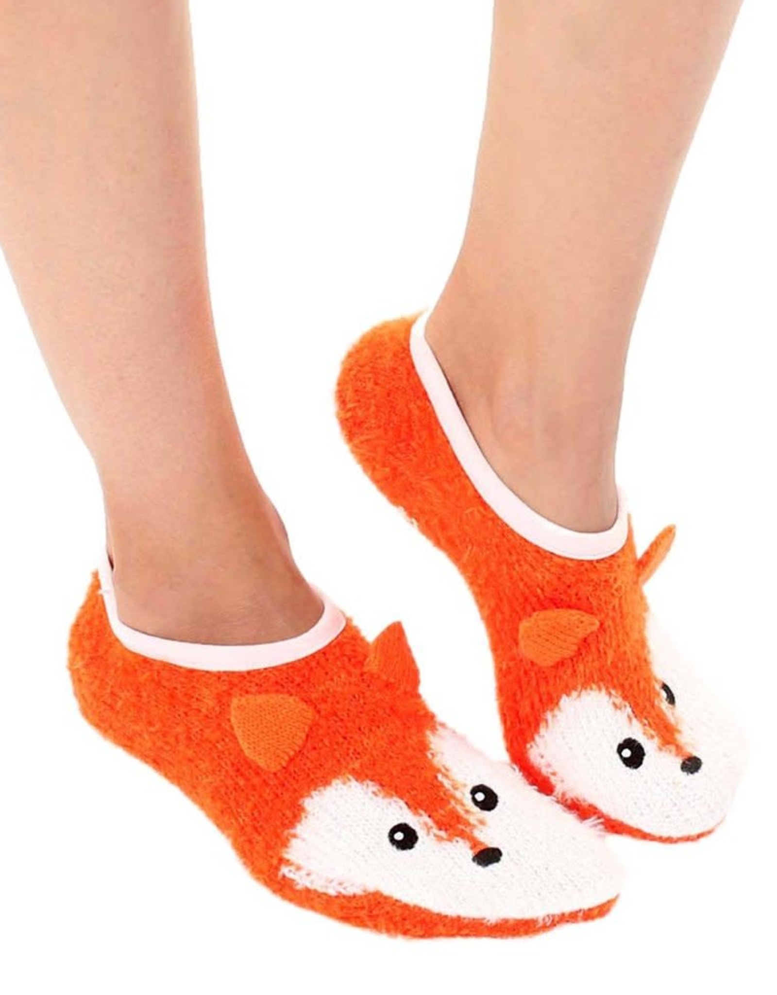 Living Royal Fuzzy Fox Slipper