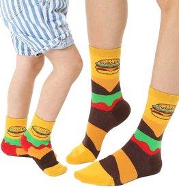 Living Royal Mini + Me Socks: Burger + Slider