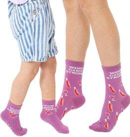 Living Royal Mini + Me Socks: Wine Game