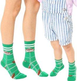 Living Royal Mini + Me Socks: Quarterback