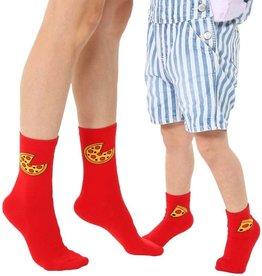 Living Royal Mini + Me Socks: Pizza