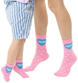 Living Royal Mini + Me Socks: Best friends