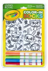 Crayola Color-In Socks: Puppy Vibes