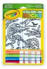 Crayola Color-In Socks: Chameleon