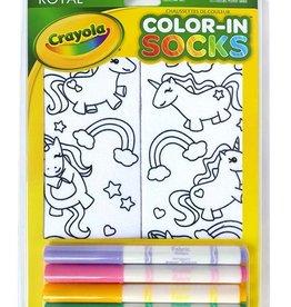 Crayola Color-In Socks: Unicorn Fun