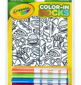 Crayola Color-In Socks: Snack Attack