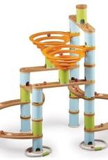 Fat Brain Toys Bamboo Marble Run 168pc