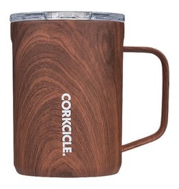 Corkcicle Mug Walnut Wood Coffee