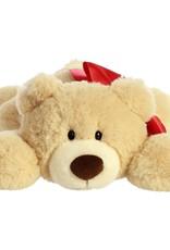 """Aurora Hugga-Wug Bow Bear Tan 12"""""""