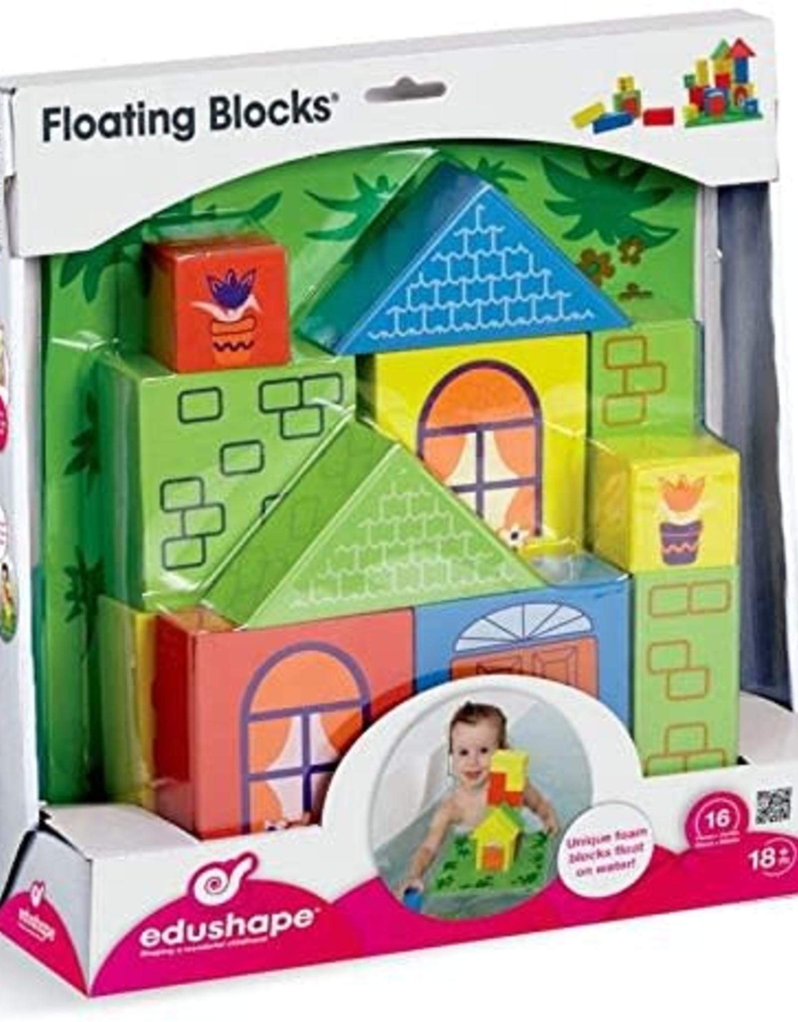 Edushape Floating Blocks - Set of 16