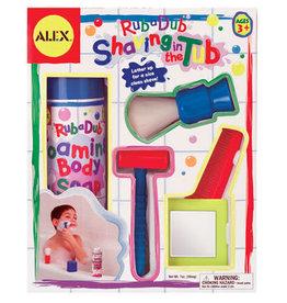 Alex Shaving in the Tub