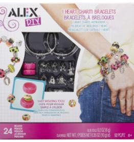 Alex I Heart Charm Bracelets