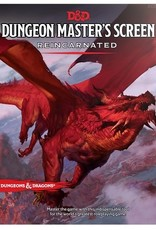Wizards of the Coast DND RPG Dungeon Master's Screen Reincarnated