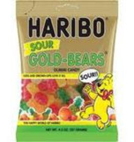 Haribo Peg Bag Sour Gold Bears