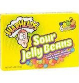 Warheads WarHeads Sour Jelly Beans-Theatre Box