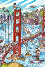 Cobble Hill Doodletown: San Francisco 1000pc
