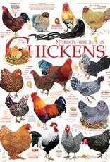 Cobble Hill Chicken Quotes (Modular Box) 1000pc