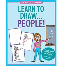 Peter Pauper Press Learn to Draw! People