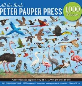 Peter Pauper Press All the Birds 1000pc