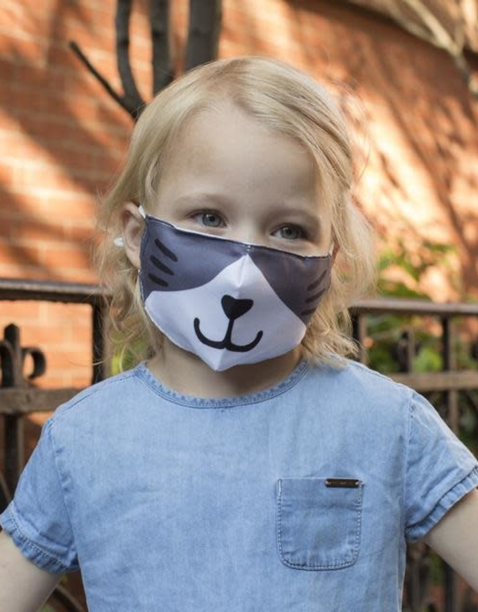 Kikkerland Cat Kid's Mask