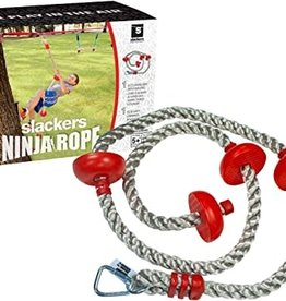"B4 Adventure Ninja Climbing Rope 5"" w/Foot Holds"