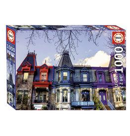 Educa Victorian Houses, Montreal 1000pc