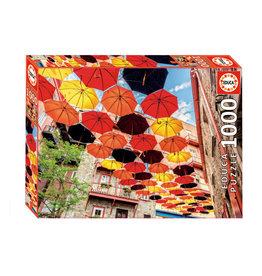 Educa Umbrellas in Petit Champlain