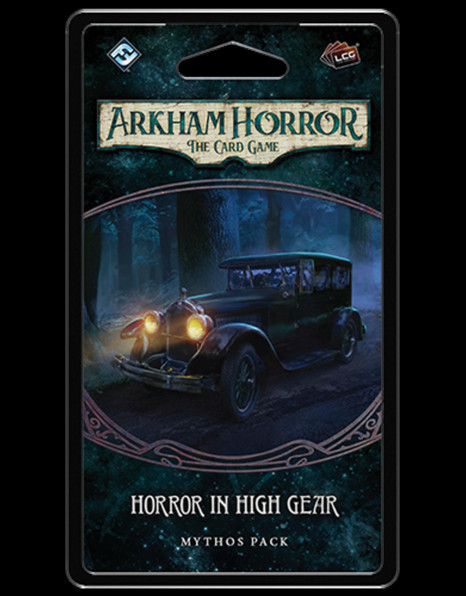Fantasy Flight Games Arkham Horror LCG: Horror in High Gear