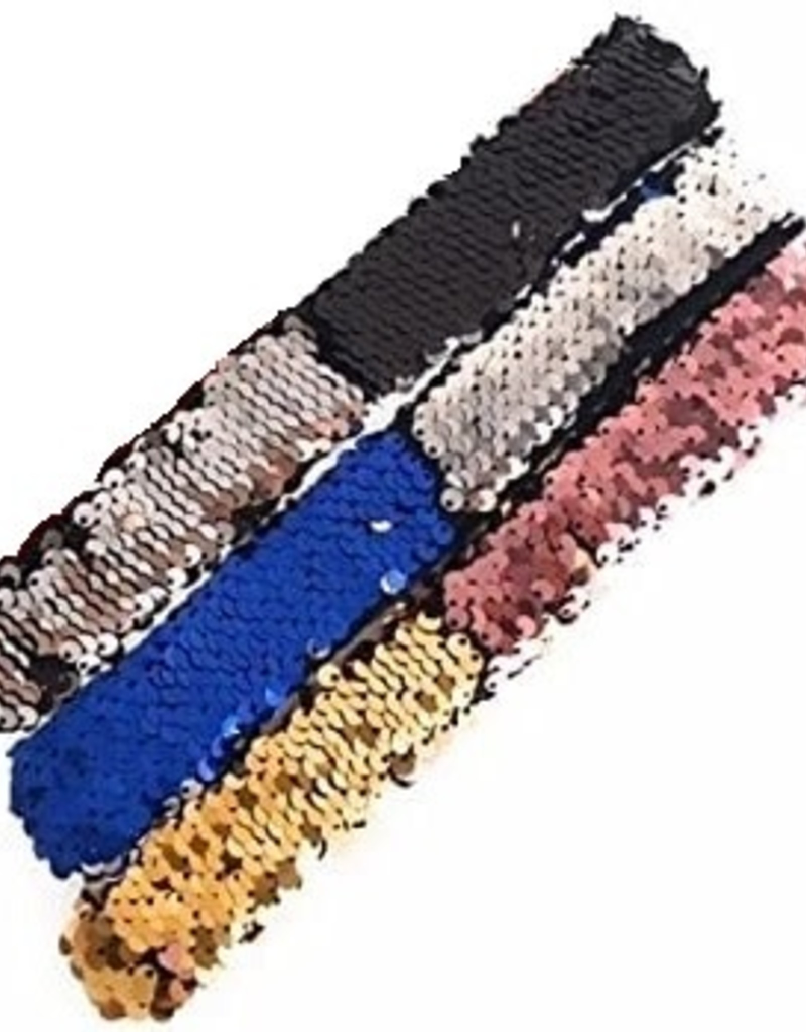 Brush Sequin Slap Bracelet
