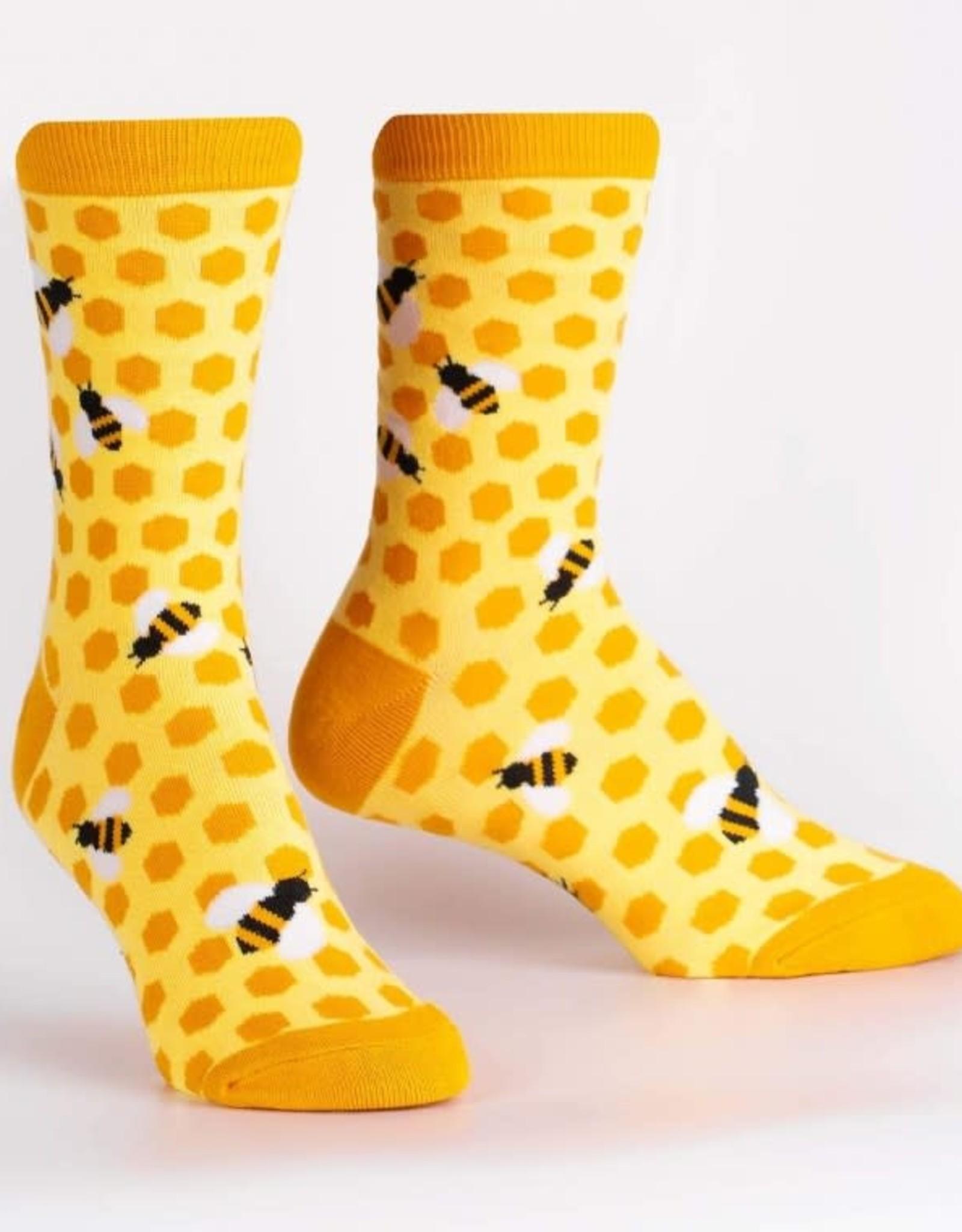 Sock It To Me WOMEN S CREW: BEE S KNEES