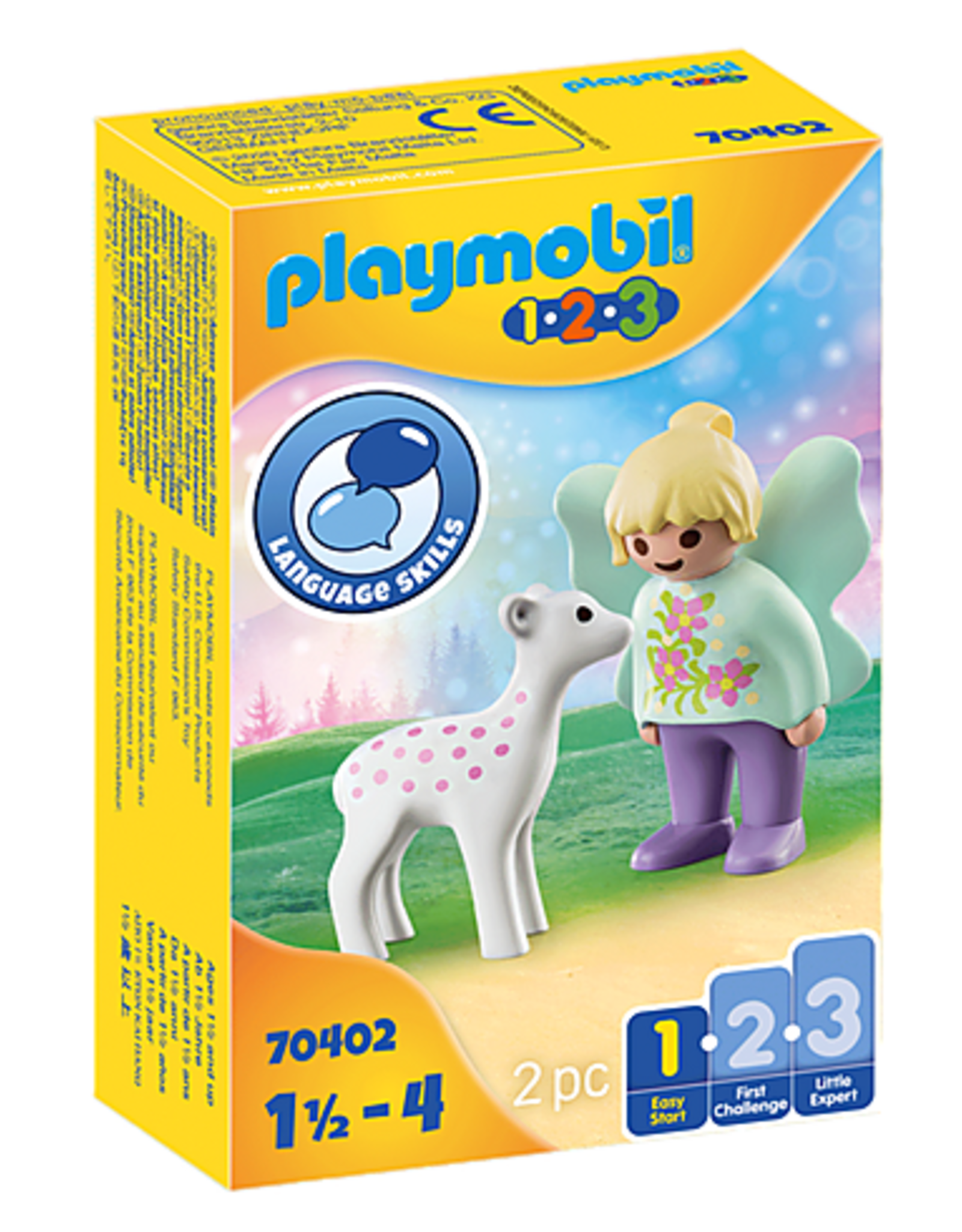 Playmobil 1.2.3. Fairy Friend with Fawn