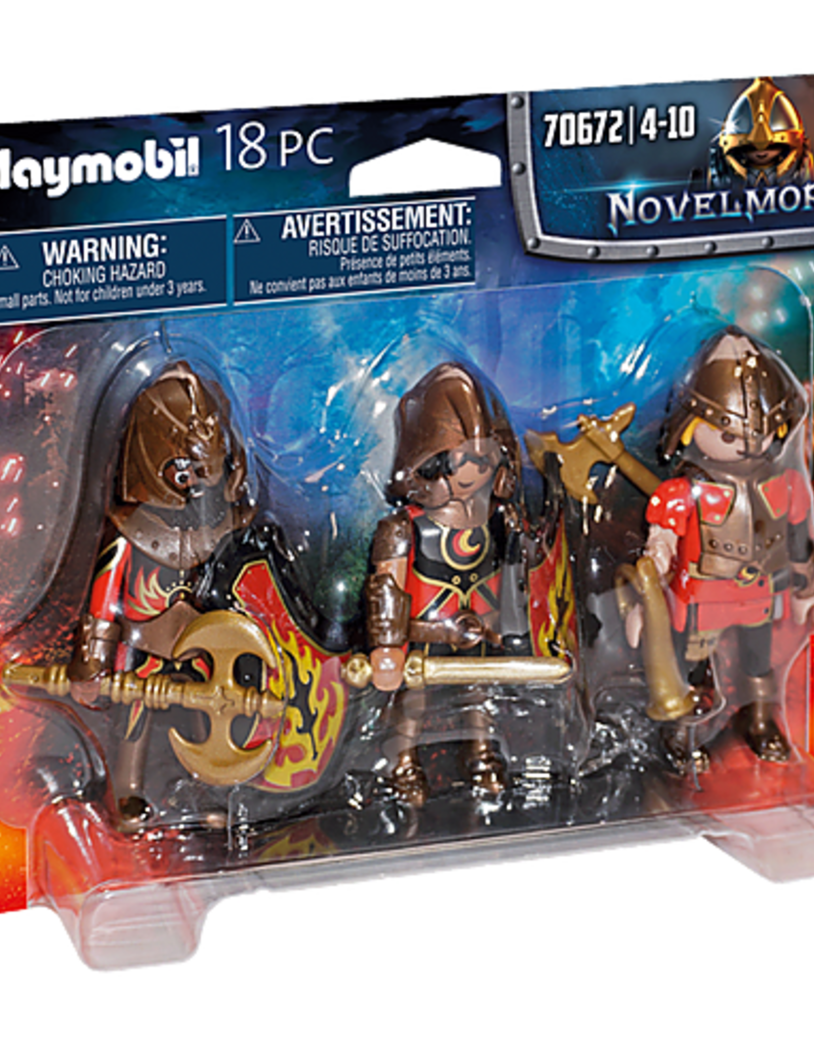 Playmobil 70672 Burnham Raiders Set