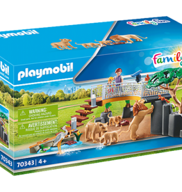 Playmobil Outdoor Lion Enclosure