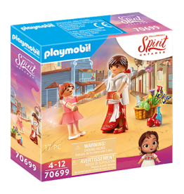 Playmobil Young Lucky & Mum Milagro