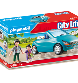 Playmobil 70285 Family with Car