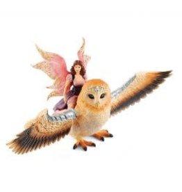 Schleich Bayala Fairy in Flight on Glam-Owl