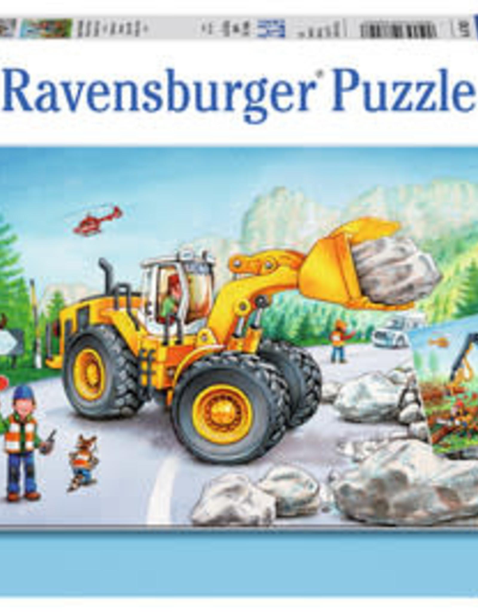 Ravensburger Diggers at Work (2 x 24 pc)