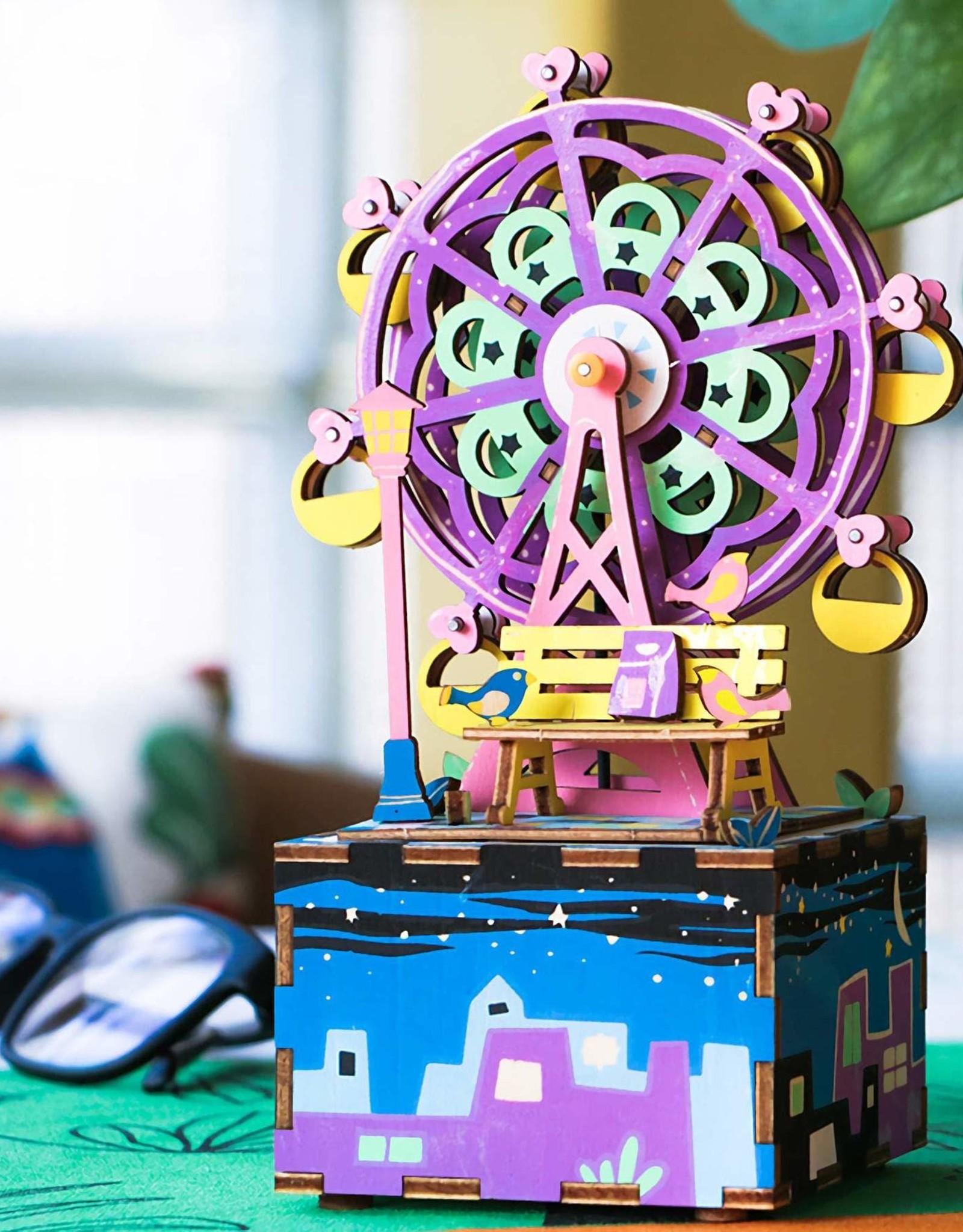 Robotime DIY Wooden Music Box - Ferris Wheel