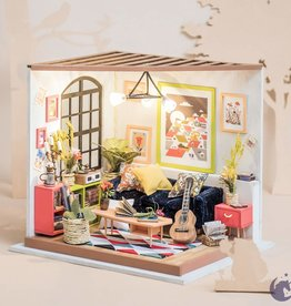 Robotime DIY House - Locus's sitting room