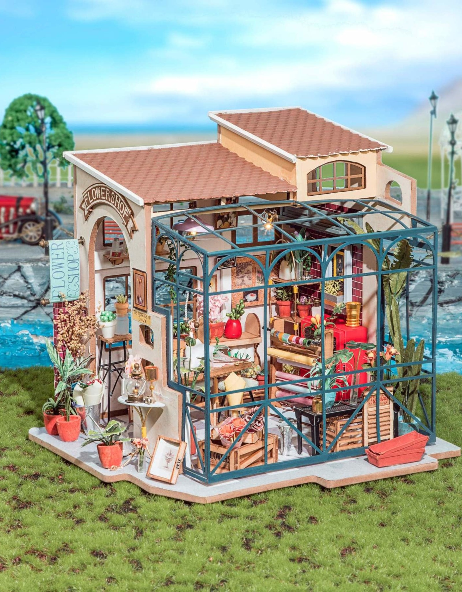 Robotime Emily's Flower Shop