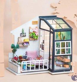 Robotime DIY House-Balcony daydreaming