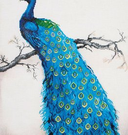 Diamond Dotz Diamond Dotz - Blue Peacock