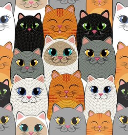 Diamond Dotz Diamond Dotz - Cat Clan -Large