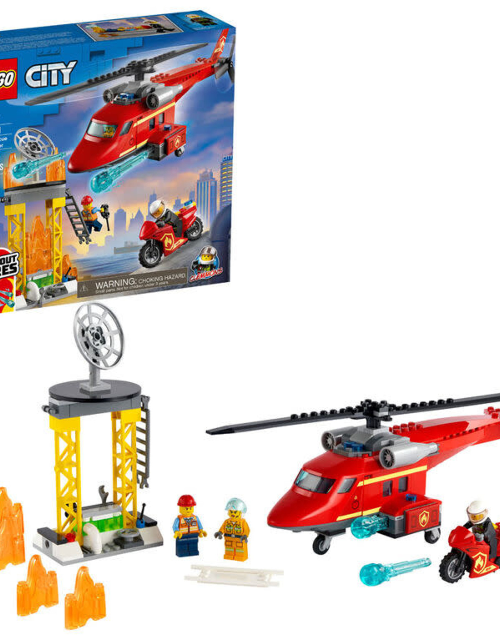 LEGO 60281 Fire Rescue Helicopter V39