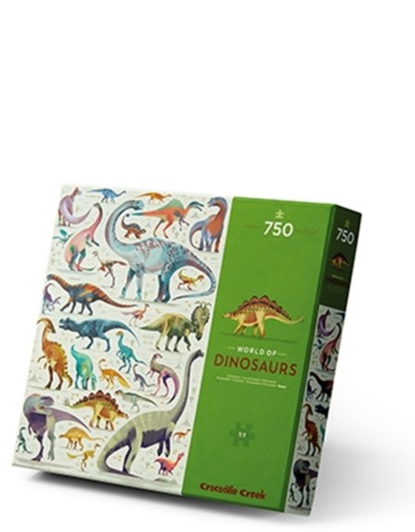 Crocodile Creek 750 PC WORLD OF - PUZZLES/DINOSAURS
