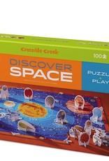 Crocodile Creek 100-PC DISCOVER PUZZLE/SPACE